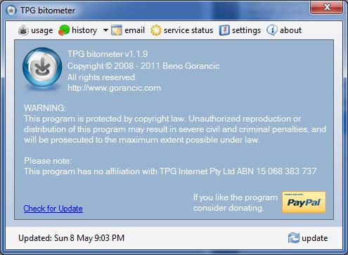 Gorancic com - Blog » Blog Archive » TPG bitometer